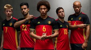 Belgium Kit Euro 2016