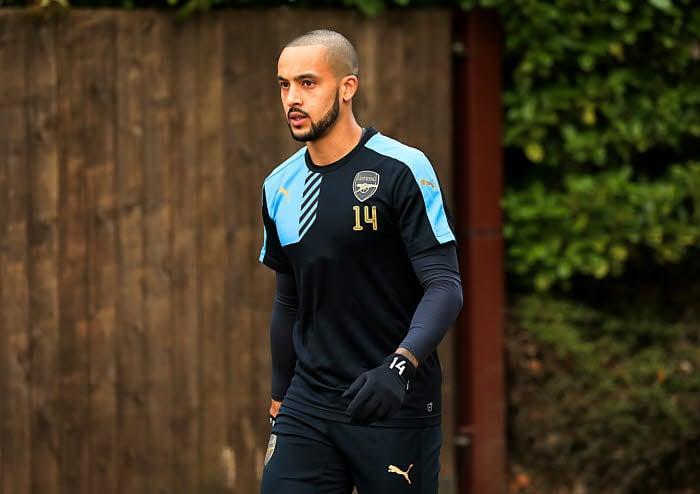 Arsenal Training - London Colney