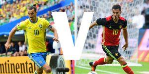 22-06-2016 - Sweden vs Belgium - 8pm