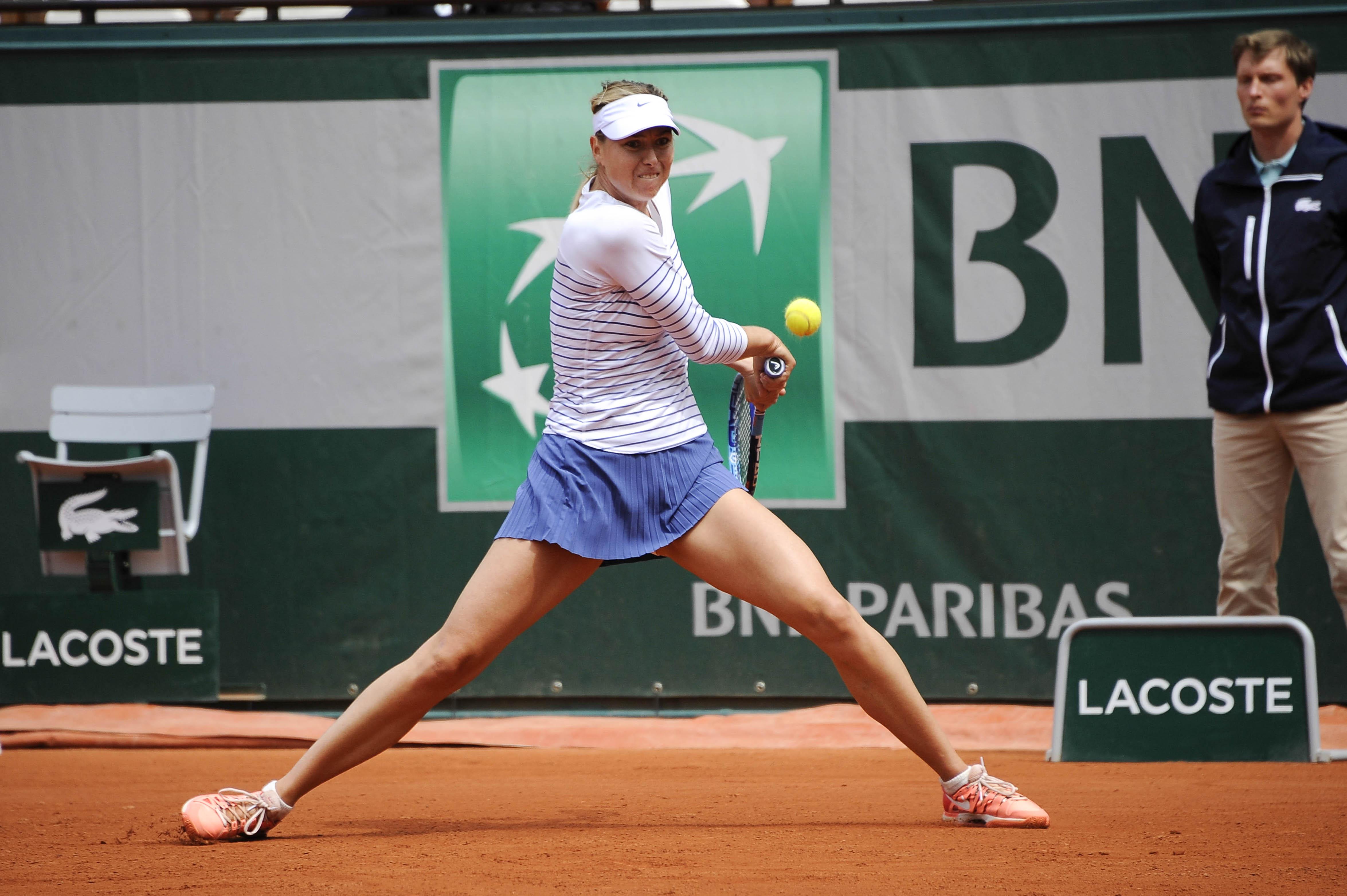 Maria SHARAPOVA  - 01.06.2015 - Jour 9 - Roland Garros 2015 Photo : Nolwenn Le Gouic / Icon Sport