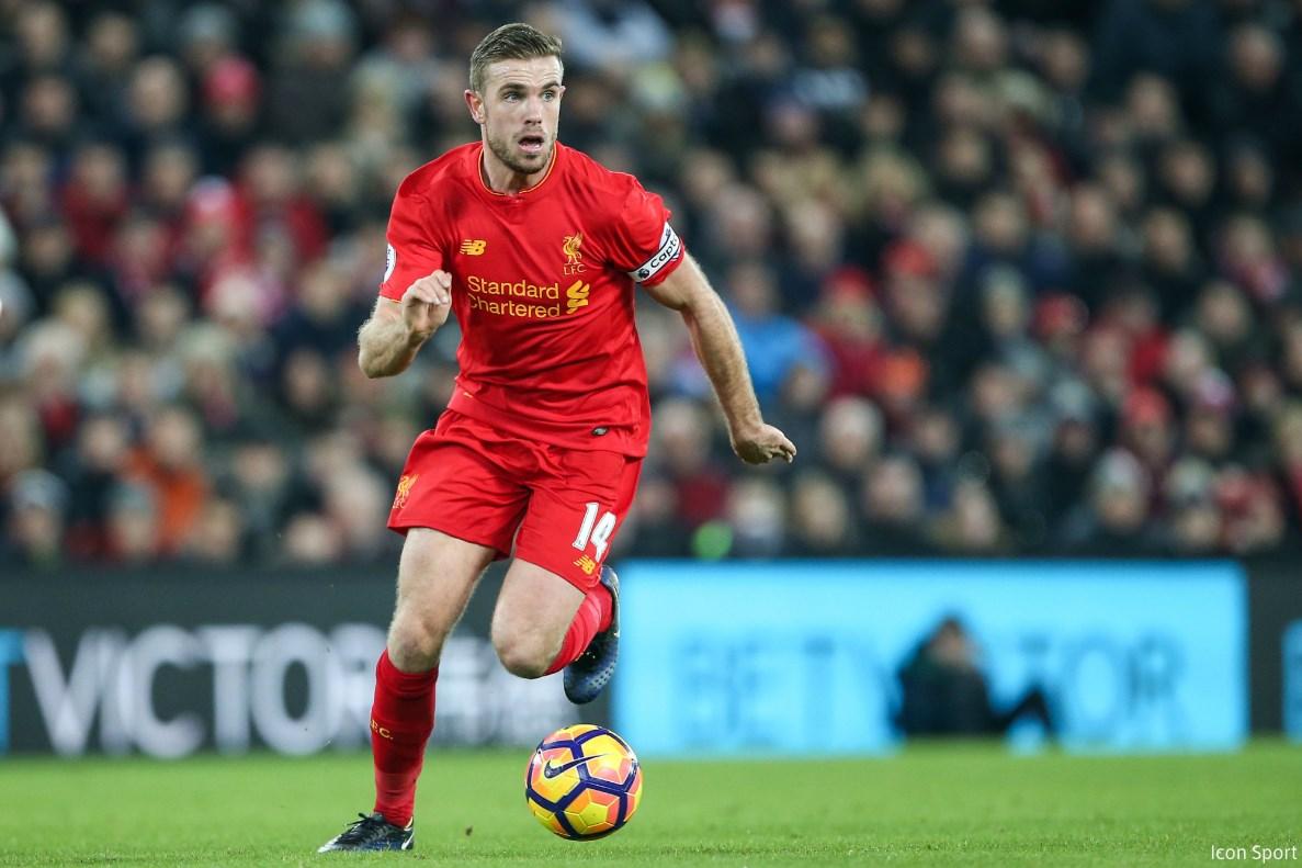 09-02-2017 - Liverpool - Jordan Henderson - Icon Sport
