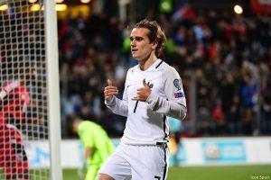 27-03-2017 France Antoine Griezmann - Icon Sport