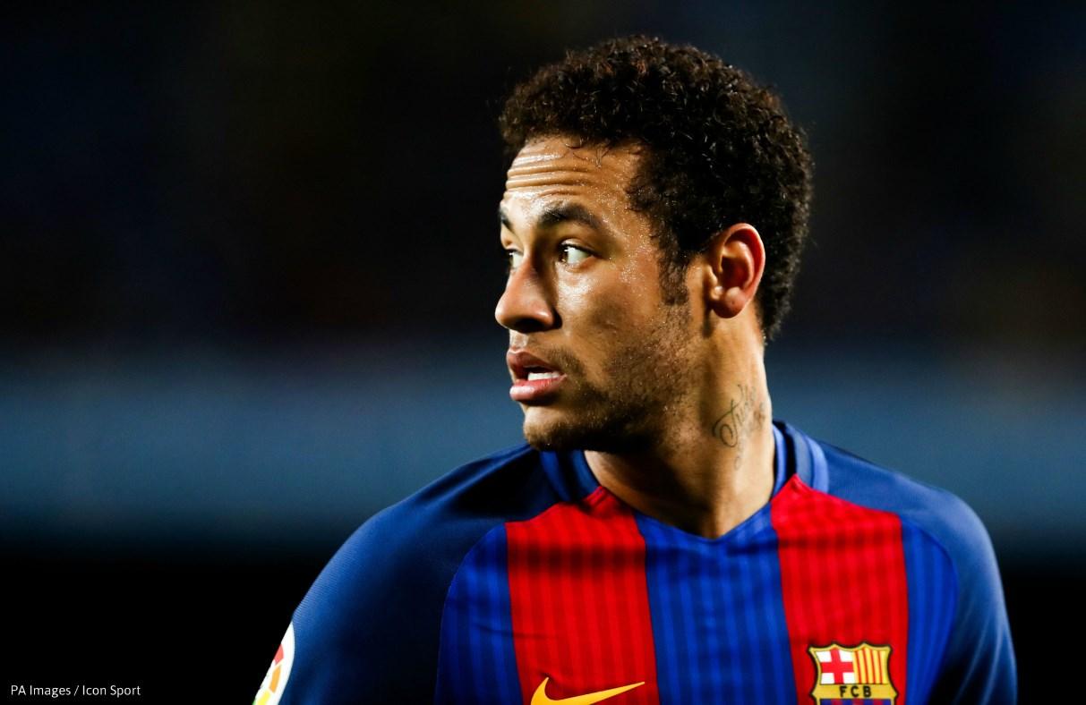 04-04-2017 - Neymar Barcelona PA Images Icon Sport