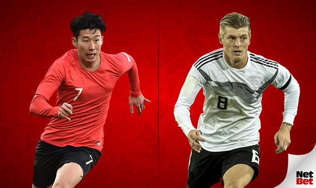 Nhận định World Cup: Hàn Quốc vs Đức, 21h00 ngày 27/6
