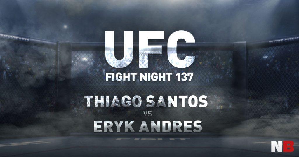Santos vs. Andres - UFC 137