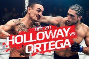 UFC 231 - Holloway vs. Ortega