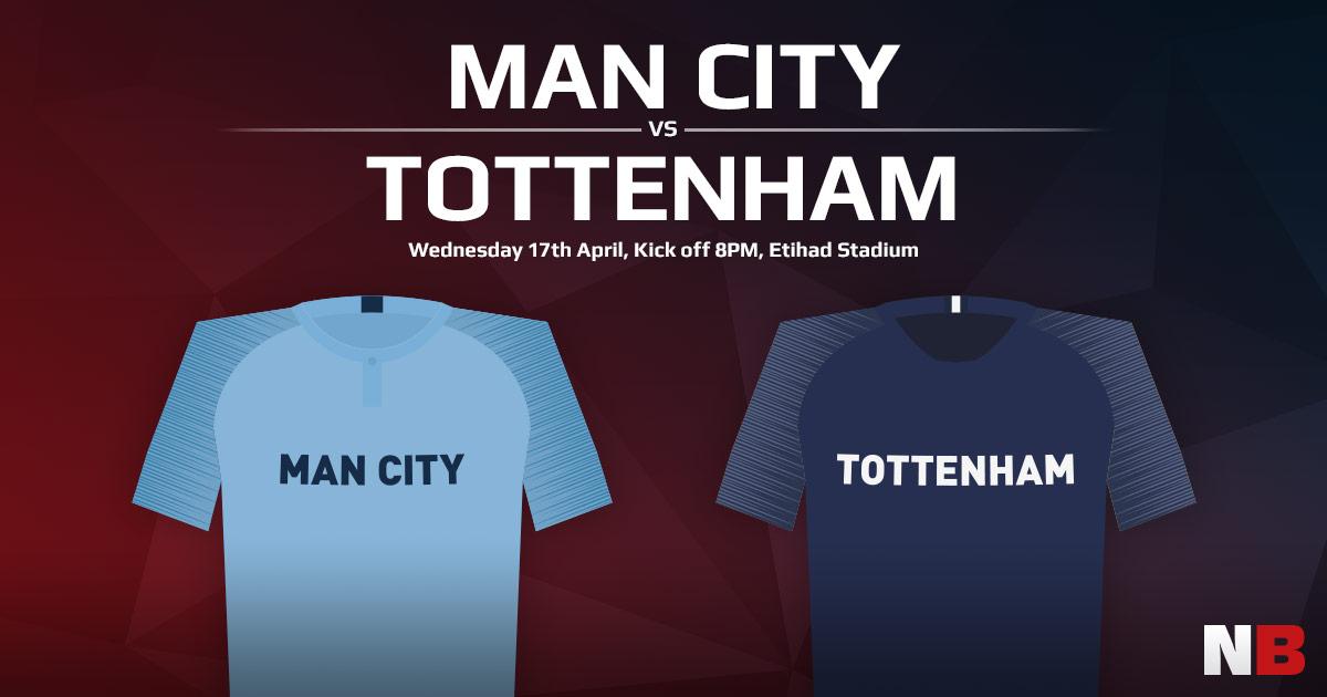 Manchester City vs Tottenham Hotspur Match Prediction, Betting Tips