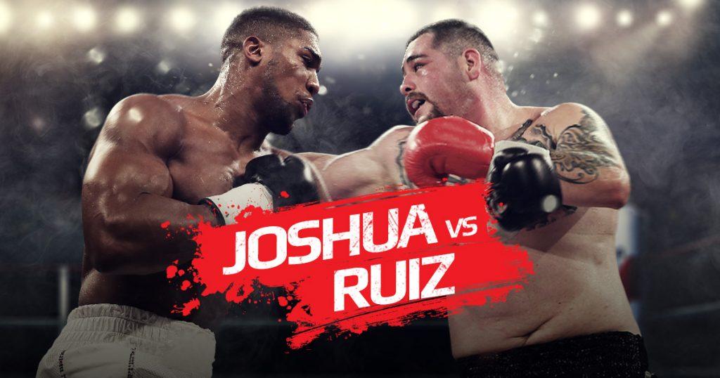 Anthony Joshua vs Andy Ruiz JR