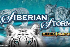 Siberian Storm Jackpot Winner