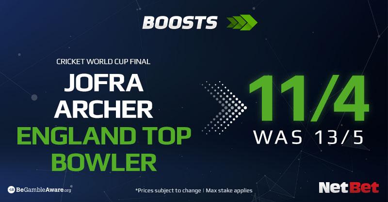 Jofra Archer - Top Bowler