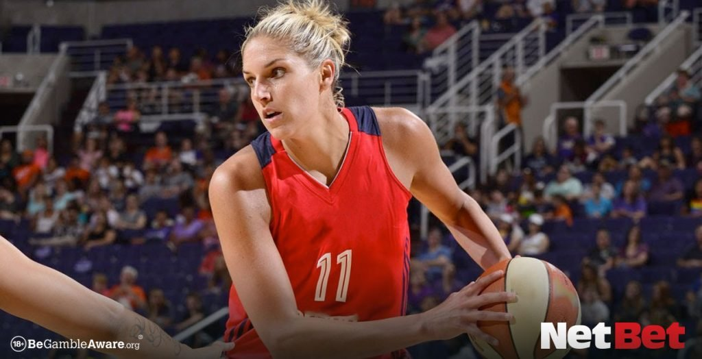 Elena Delle Donne playing basketball