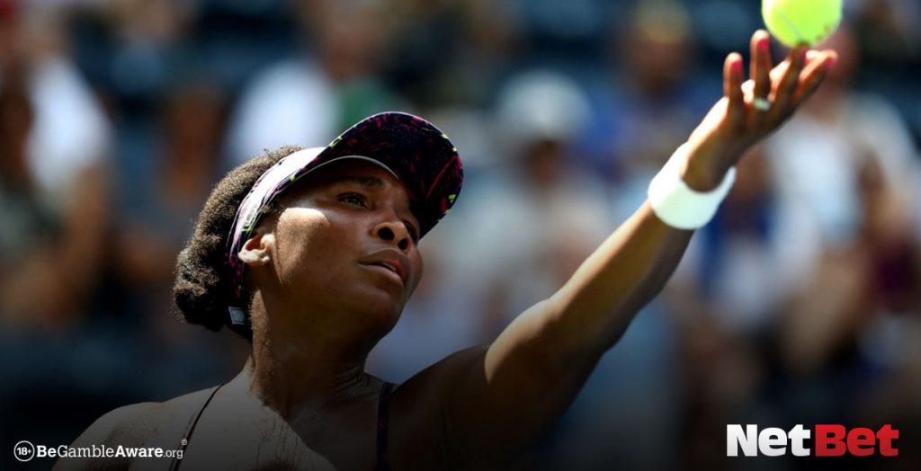 Venus Williams playing tennis