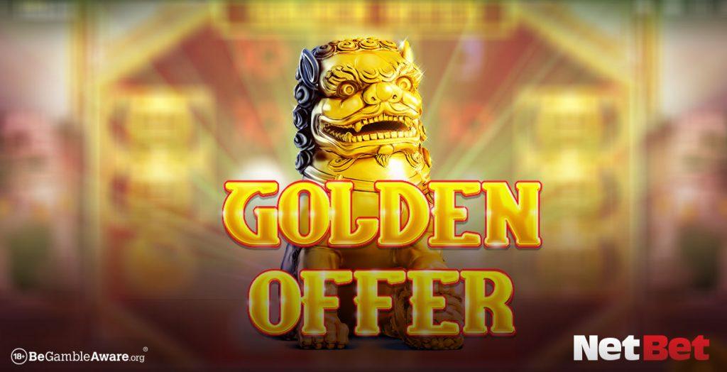 Golden Offer game banner