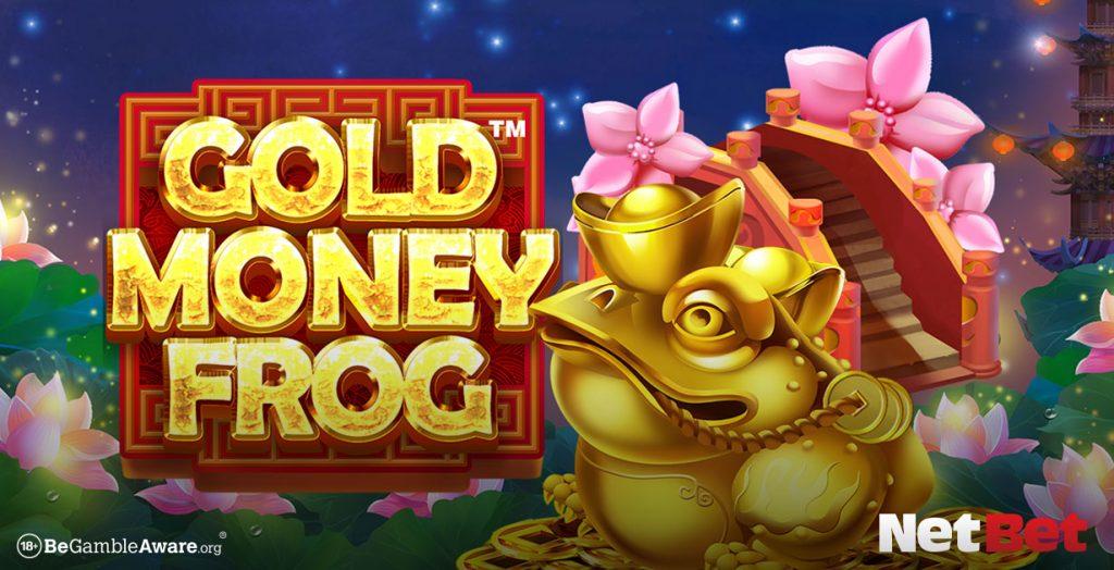 Gold Money Frog game banner