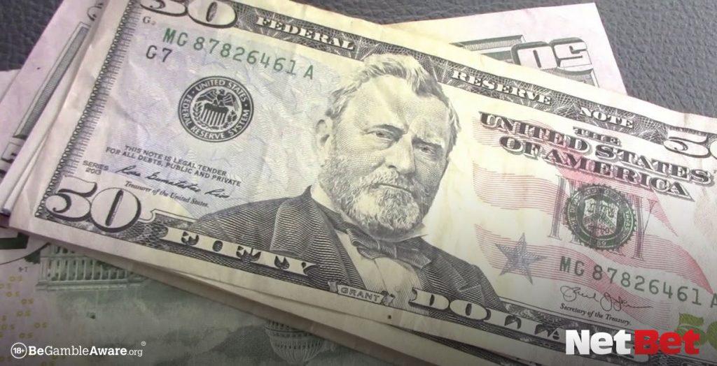 Pile of $50 bills