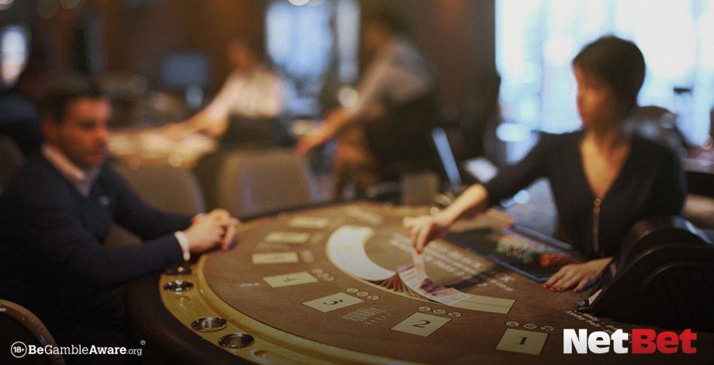 blackjack rules table NetBet