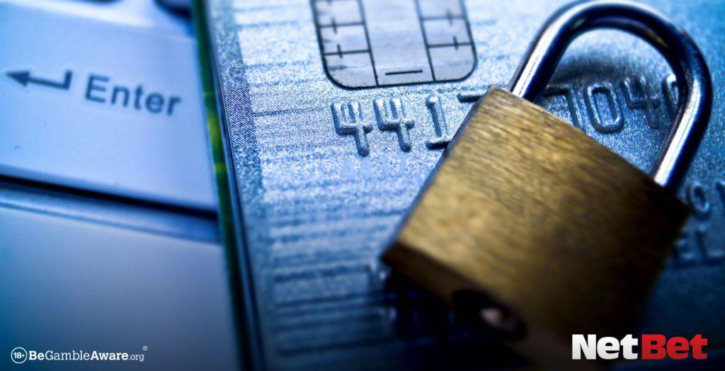 Padlock and payment card