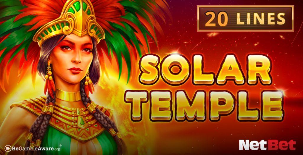 Solar Temple game banner NetBet