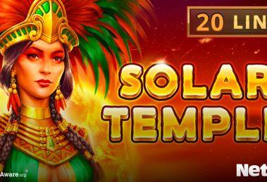Solar Temple slot game banner