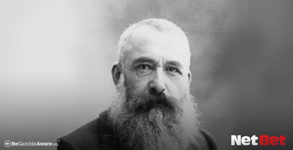 Claude Monet popular gambler