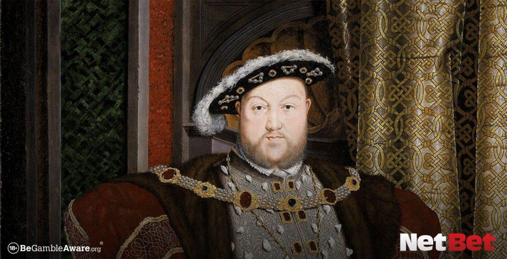 Henry VIII famous gamblers