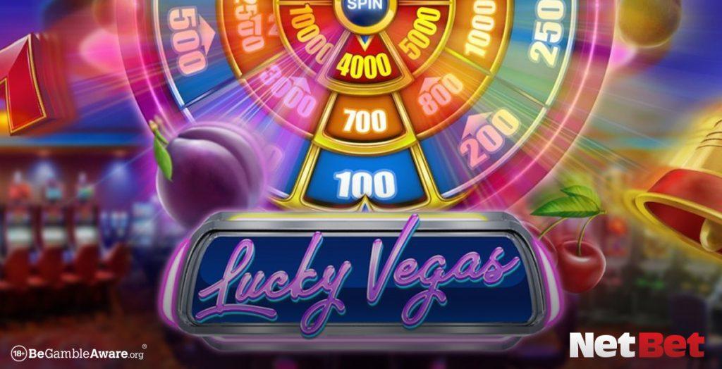 Lucky vegas themed slot