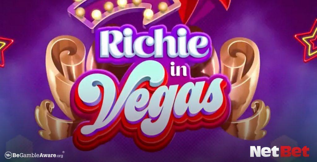 Richie in Vegas themed slot