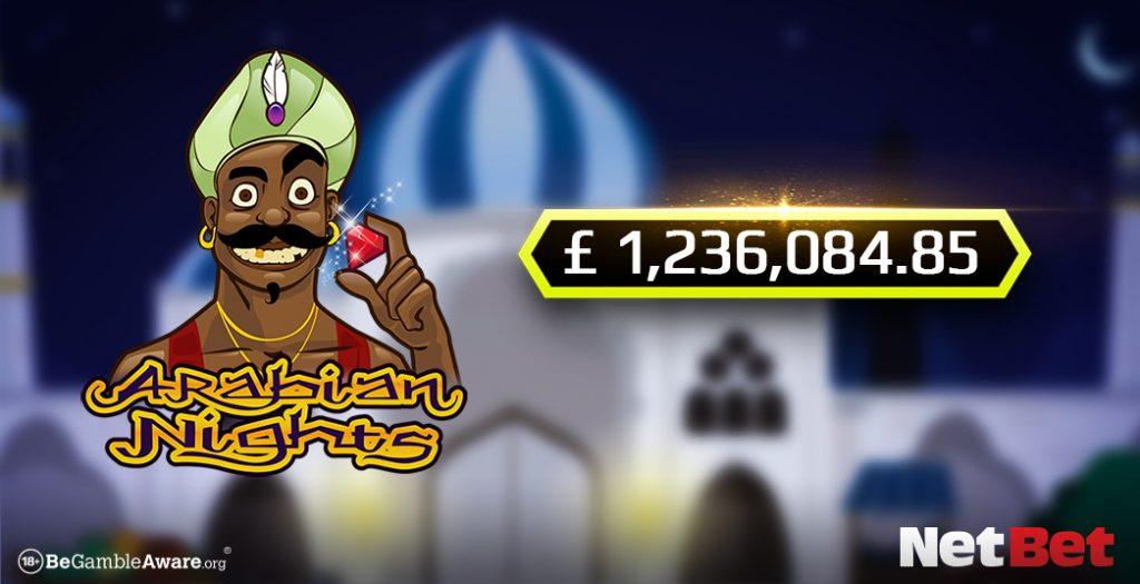 Arabian Nights Makes Player a Millionaire
