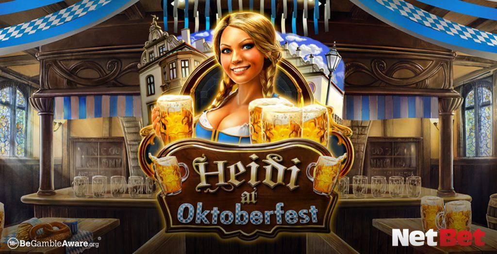 Heidi at Oktoberfest game